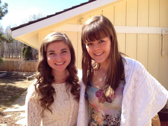 Jessi and I--Easter