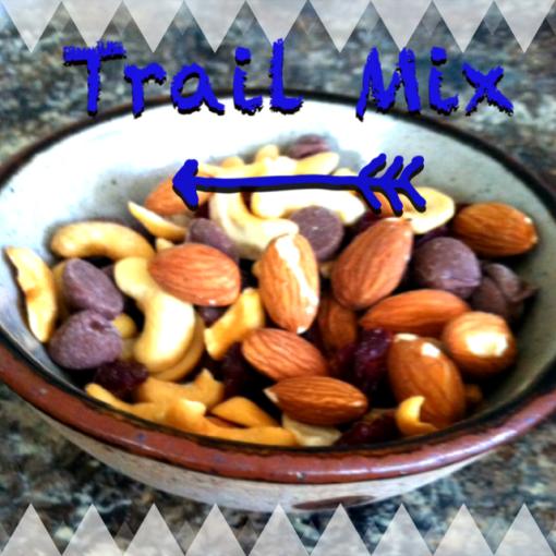 Chocolate Cashew Almond Trail Mix