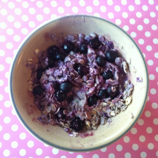 Blueberry Oat Bowl