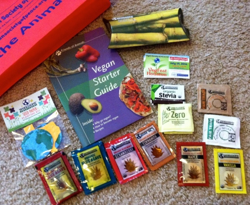 Vegan Sample Bag Goodies