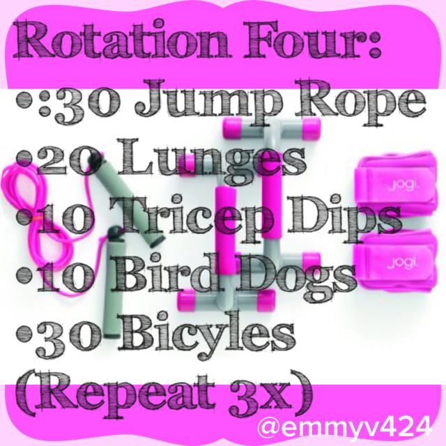 kick-start circuit series: rotation four