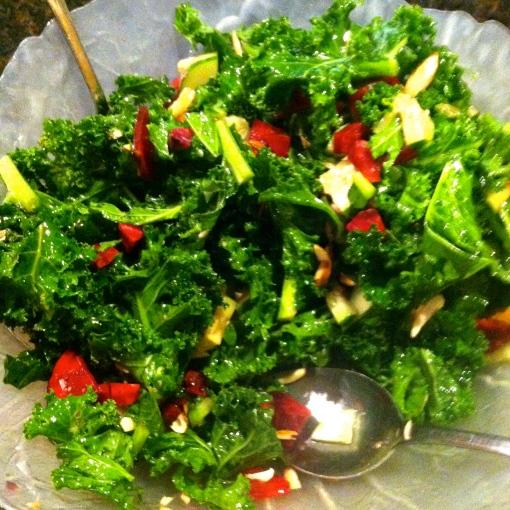 Sweet Beet Kale Salad