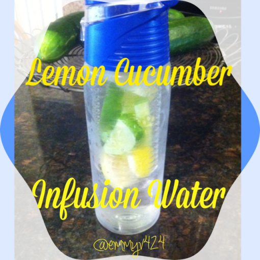 lemon cucumber infusion water