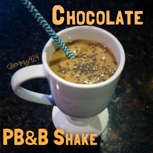 Chocolate PB&B Shake---Journey for Jessi