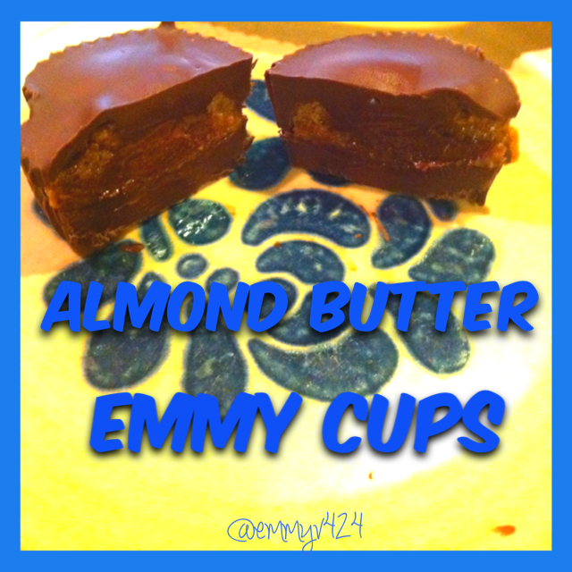 Dark Chocolate Almond Butter Cups--- Journey for Jessi