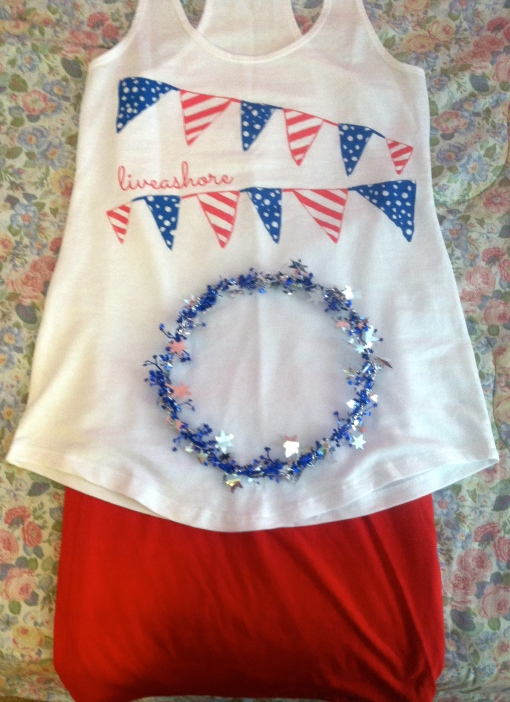 OotD Fourth of July Fashion---Journey for Jessi
