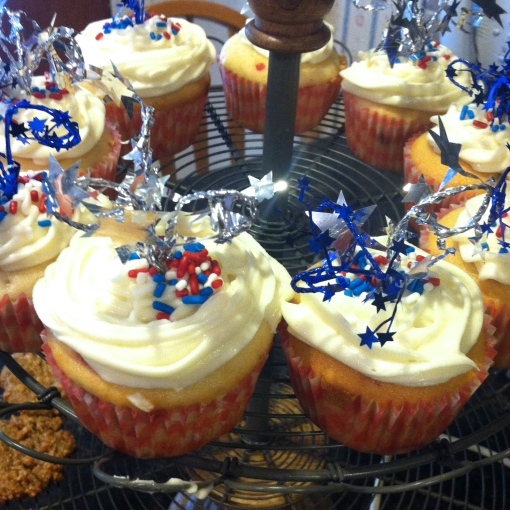 Firework Cupcakes---Journey for Jessi