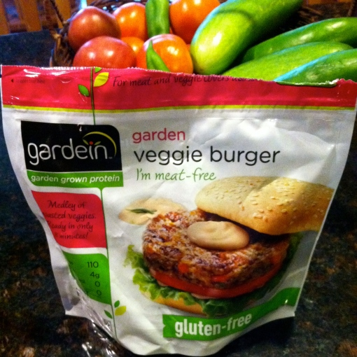Veggie Burger--Journey for Jessi