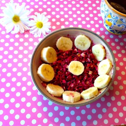 pitaya oat bowl--Journey for Jessi