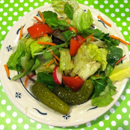 Small Summer Salad--Journey for Jessi