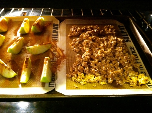 Baked Apple and Granola--Journey for Jessi