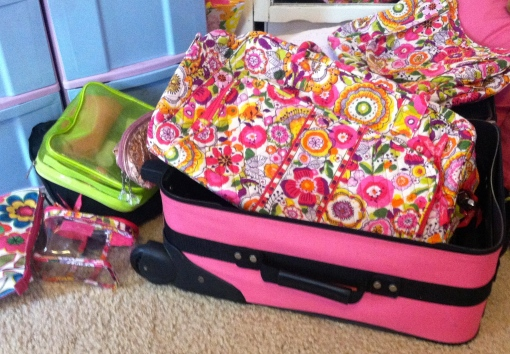 Packing Time--Journey for Jessi