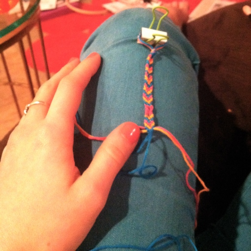 Friendship Bracelet Making--Journey for Jessi