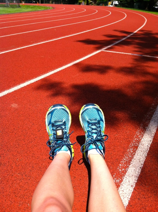 Breaking in my new Running Shoes--Journey for Jessi