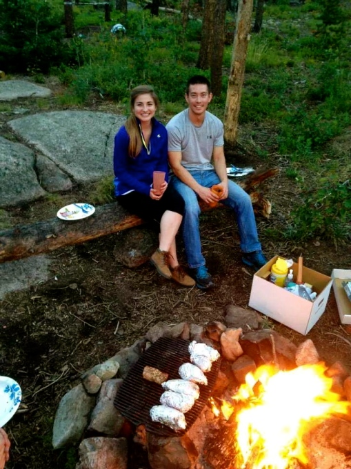 Campfire Dinner--Journey for Jessi