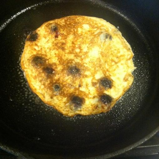 """blueberry banana-egg """"pancakes""""--Journey for Jessi"""