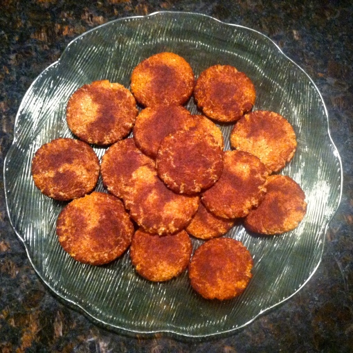 gluten-free snicker doodles--Journey for Jessi