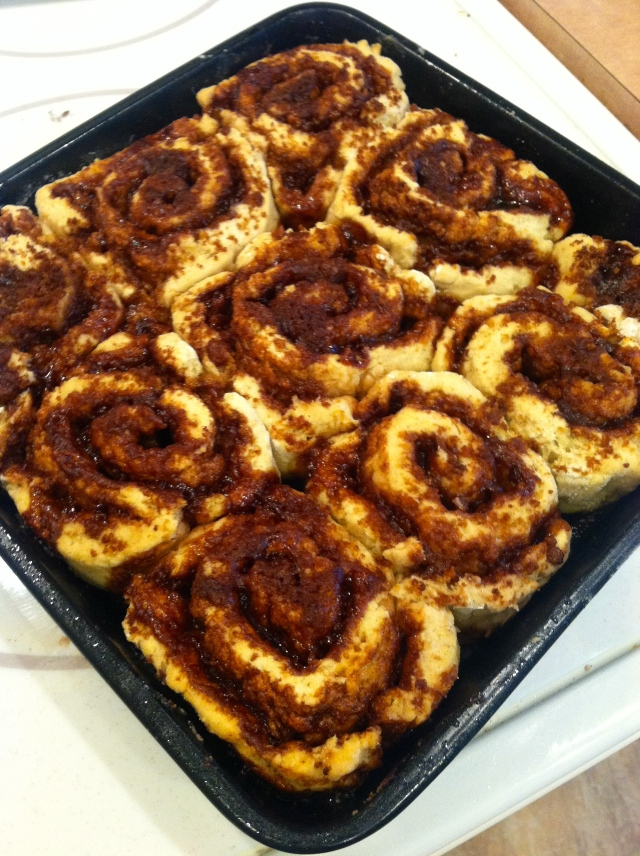 gluten-free vegan cinnamon rolls--Journey for Jessi