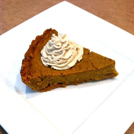 pumpkin protein pie--Journey for Jessi