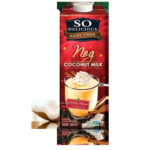 eggnog protein shake--Journey for Jessi