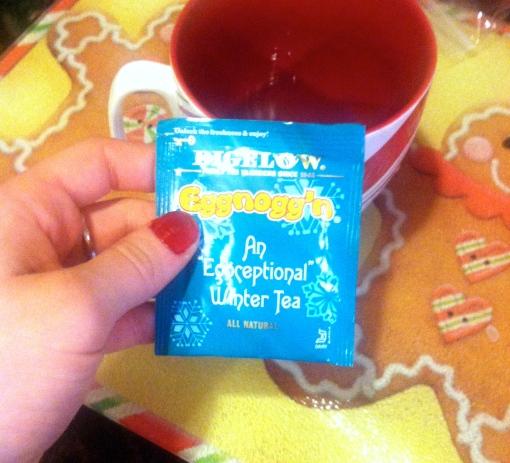 eggnog tea