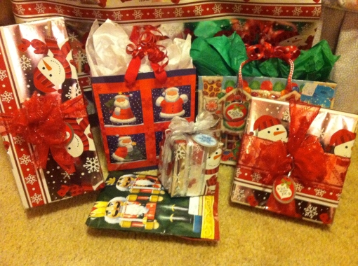 christmas patience and presents--Journey for Jessi