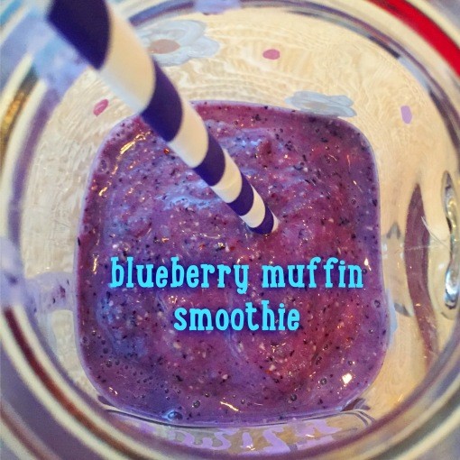 blueberry muffin protein smoothie || Journey for Jessi