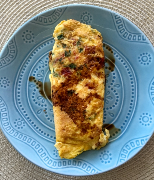 tomato basil omelette || Journey for Jessi