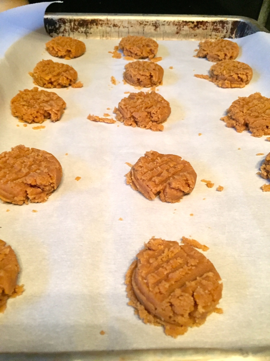 peanut butter smash cookies