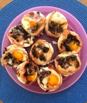 day nineteen | bacon egg breakfast cups