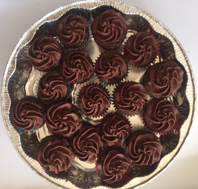 dark chocolate rum cupcakes | Journey for Jessi