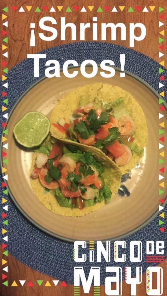 cinco de mayo shrimp tacos | Journey for Jessi