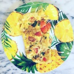 tomato basil omelette | breakfast | whole30 | foodie | eggs | paleo | gluten-free breakfast | Moving Mountains Wellness