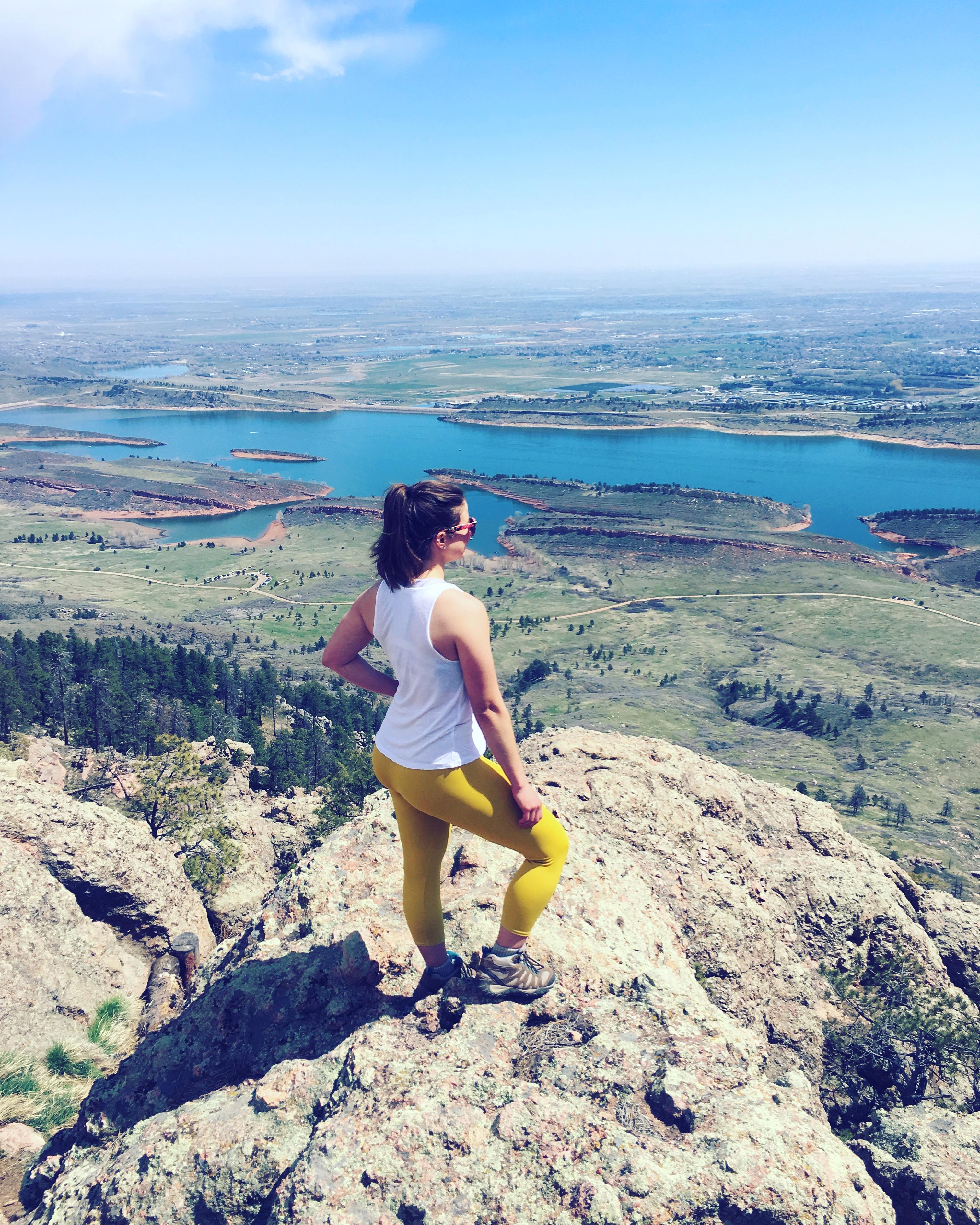 train it tuesday | hike | colorado | mountains | outside | Moving Mountains Wellness